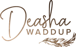 deasha waddup from social treats logo